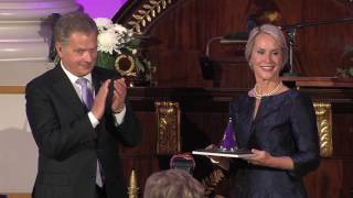 2016 Millennium Technology Prize Awarding by the President of Finland, Sauli Niinistö