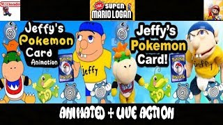 SML Movie: Jeffy's Pokemon Card! Animated + Live Action