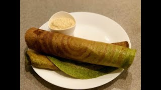 Sprouted Moong Dal Dosa | Pesarattu | Sprouted Green Gram Dosa | Instant Healthy Breakfast Ideas