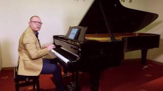 Piano lesson on wrist movement (part 2)