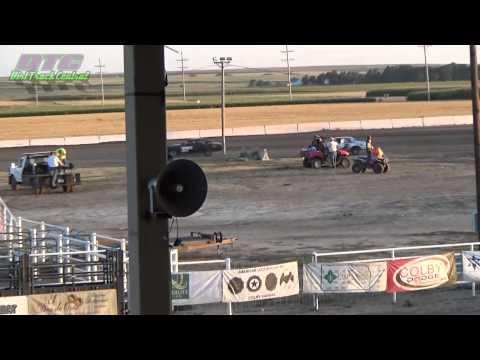 Econo Heats Thomas County Speedway 8-14-15