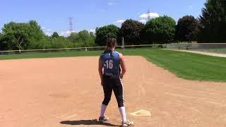 Michelle Hanson Softball Video '19