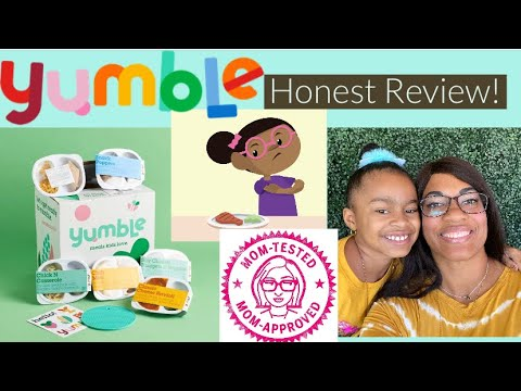 Yumble - Healthy Meals for Kids   Our Honest Review!!