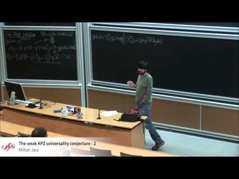 Milton Jara : The weak KPZ universality conjecture - 2