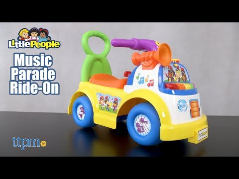Little People Music Parade Ride-On from Jakks Pacific