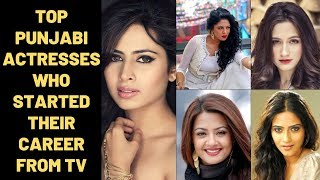 Top Punjabi Actresses Who Started Their Career From Television