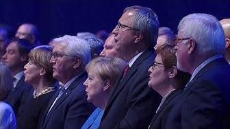 03.10.2019 - Nationalhymne - Festakt zum Tag der Deutschen Einheit - Mut verbindet
