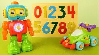 Робот Q и его друзья - Учим цифры. Развивающие мультфильмы для детей