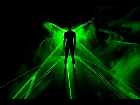 Laser Show, background Music.