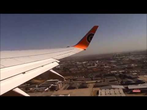 Mango Airlines, Johannesburg to Cape Town B737-800