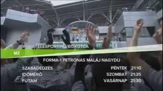 F1 Bahreini Nagydíj - ismétlések az M2-n