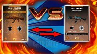 NEW VOLK VINTAGE VS. VOLK RETRO