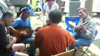 "Clifftop 2010 - ""Tennessee Wagoner"" -  Charlie Walden et friends"