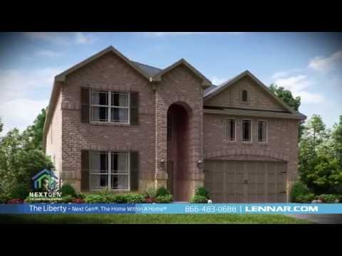 The Liberty Next Gen Home Tour - Lennar Dallas/Fort Worth ...