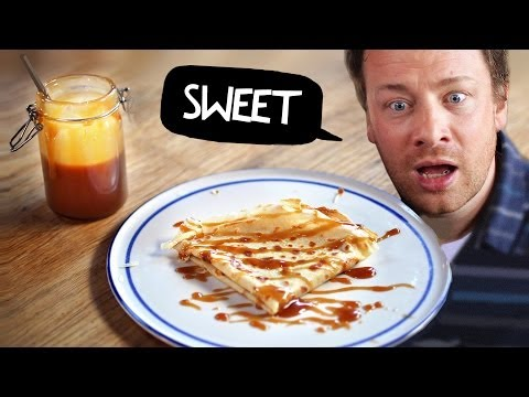 Crepes & Salted Butter Caramel With Jamie Oliver ! #mypancakeday
