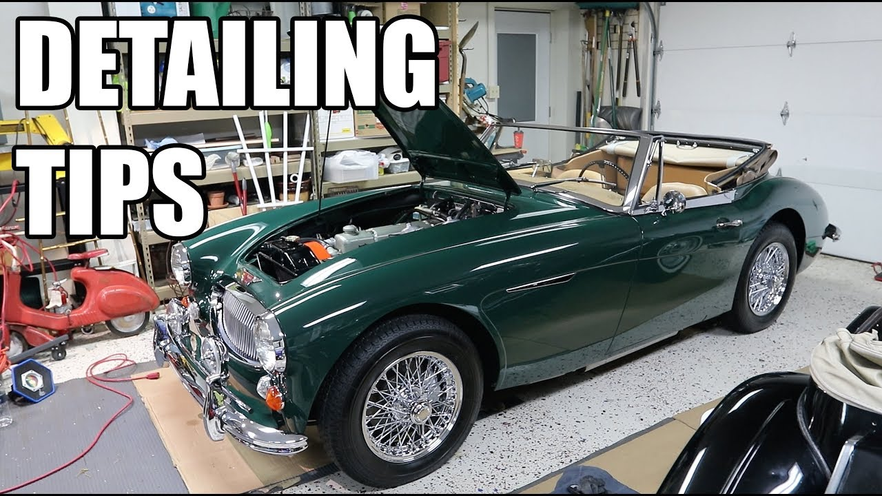 Show Car Detailing Austin Healey YouTube - Car detailing show