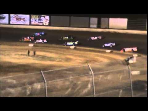 Cameron Brown racing at Kentucky Lake Motor Speedway 7/12/2014 $4,000 to win