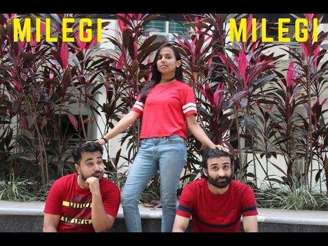 Milegi Milegi Song Dance | STREE | Mika Singh | Rajkummar Rao, Shraddha Kapoor | Dance Cover