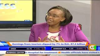 Business Center with CS Phyllis Kandie on Saving Tourism Sector