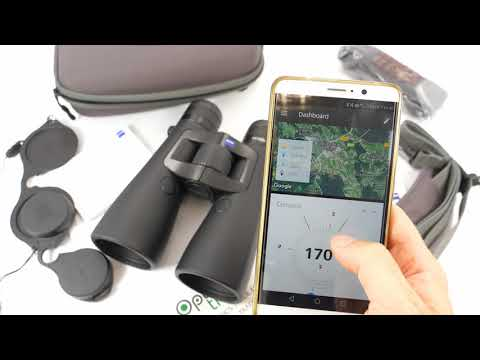 Connecting Victory RF Binculars To Zeiss Hunting App