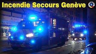 Convois Incendie Pompiers de Genève // Geneva Fire Responses