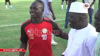 Sénégal-Congo : regardez ce qui s'est passé entre Ndoye Bane et Sadio Mané