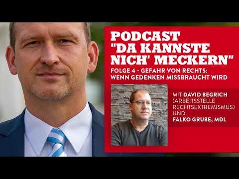 """Podcast """"Da kannste nich´ meckern..."""" - Folge 4 - Gefahr von rechts: Wenn Gedenken missbraucht wird!"""