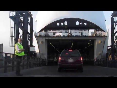Squeek & Squack  go on PEI ferry