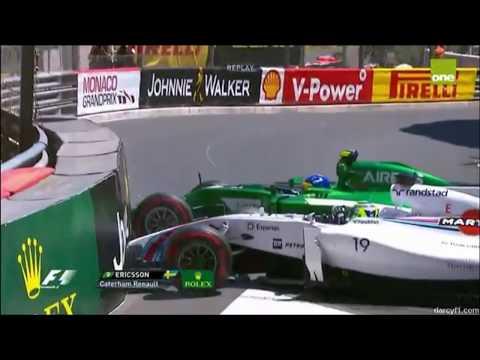 F1 2014 Crashes |