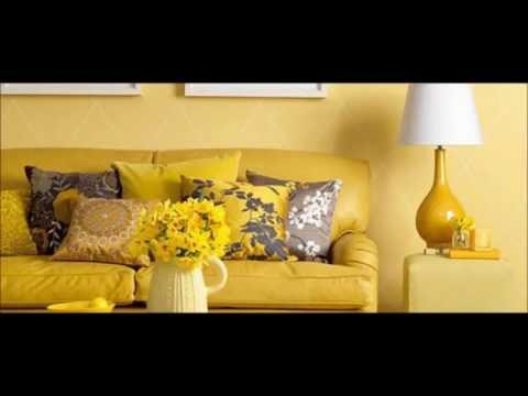 Decorando sua casa nas cores amarelo com branco