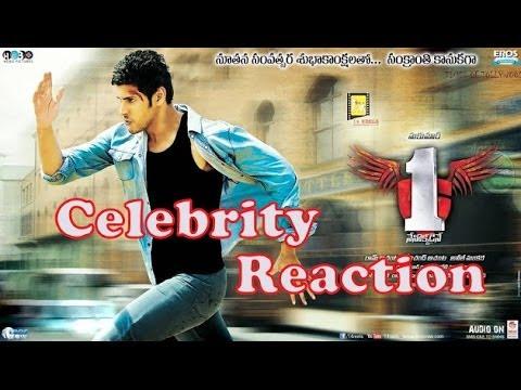 Celebrity Reaction : 1...Nenokkadine is the bravest Telugu movie ever