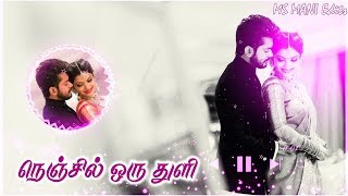 Nenjil oru thuli idam illaya | whatsapp love status video tamil