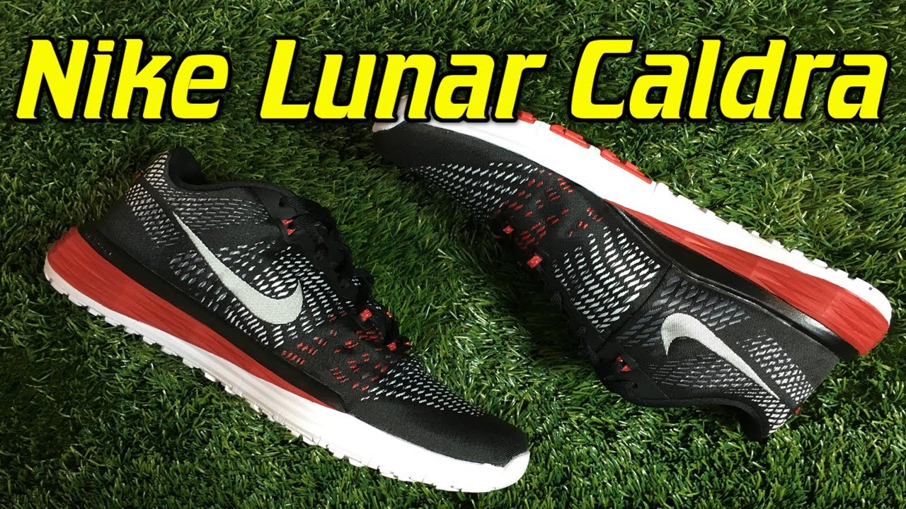 sports shoes 9a523 eaf0d Nike Lunar Caldra Trainers - Review + On Feet - YouTube