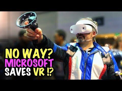 NO WAY…. Microsoft SAVES VR !?