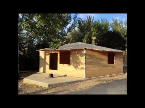 Download Casas de madera con tejado ligero ROOFY. Tejas plásticas