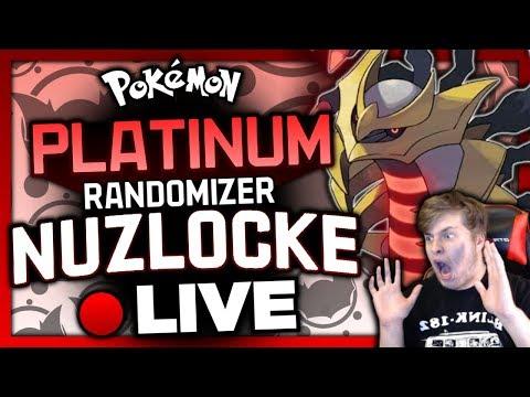 🔴 LIVE / ★ 5K VIEWS!! ★ Pokemon Platinum Randomizer Nuzlocke!! ~ Let's Play #01 w/ Shadikenn!