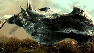[PC] Dragon in Skyrim  (HQ)