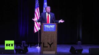 USA: Trump slams NATO during Racine rally