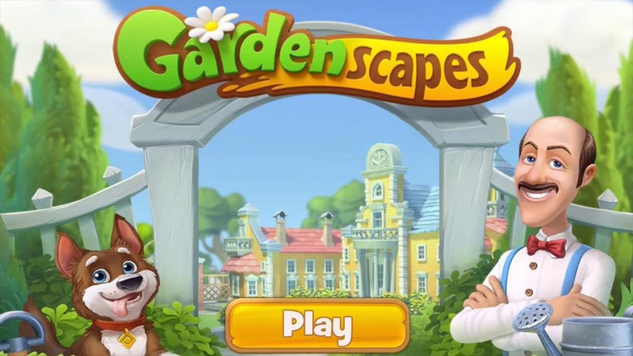 Gardenscapes New Acres Gameplay Free App Ios Android By Playrix Youtube