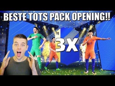 MIJN BESTE FIFA 18 TOTS PACK OPENING!! NEDERLANDS