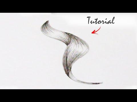 Como Desenhar Cabelos Ondulados Amanda Karla Youtube