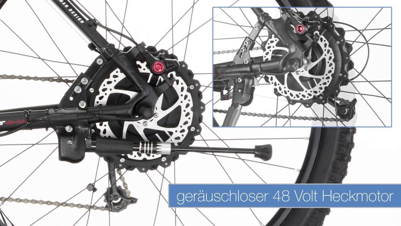 fischer proline mtb e bike em 1614 youtube. Black Bedroom Furniture Sets. Home Design Ideas