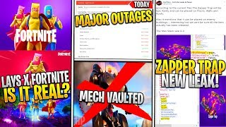 *NEW* Fortnite: Sypher PK Is GETTING Mech VAULTED! Major Outages/Bugs, LAYS Collab? & New Leaks!