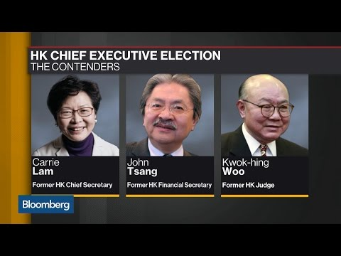 Hong Kong's Elite to Select a New Leader on Sunday