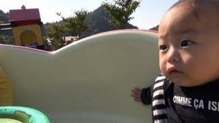 2012/10/14 【Y:0歳11ヶ月/R:3歳4ヶ月】 突然乱入(´w`