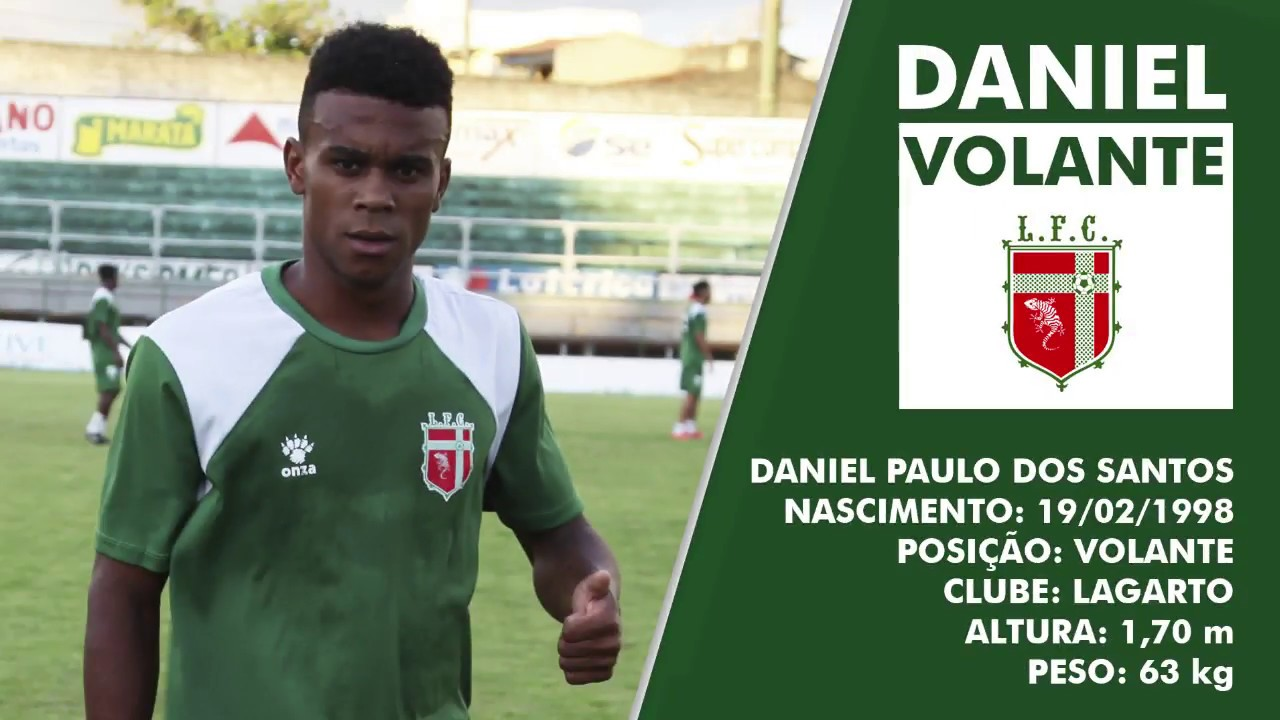 b524d5eac Daniel - Volante (Lagarto FC) - YouTube