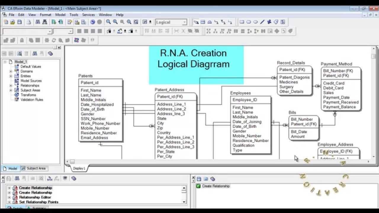 Logical model hospital system erwin data modeler youtube logical model hospital system erwin data modeler pooptronica Images
