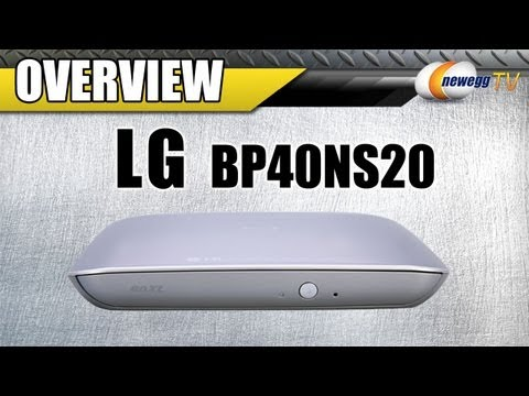 LG Portable Blu-Ray Burner & Player Overview - Newegg TV