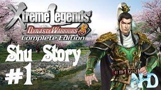 Dynasty Warriors 8 XLCE [PC] (Shu Story Mode pt1 - Liu Bei) Yellow Turban Rebellion