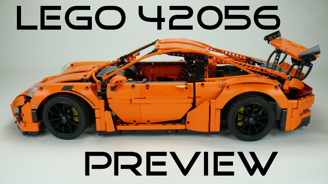 lego technic 42056 porsche 911 gt3 rs preview youtube. Black Bedroom Furniture Sets. Home Design Ideas